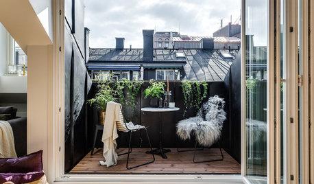 6 Idee per Godersi il Balcone Anche in Inverno