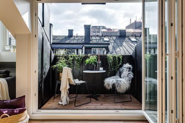 Credenza Per Terrazzo : 6 idee per godersi il balcone anche in inverno