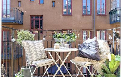 Come Rendere Speciale un Mini Balcone? I Consigli dei Danesi