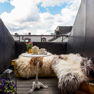 Idéer för skandinaviska balkonger