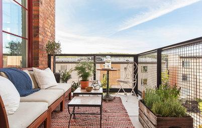 9 heta tips för balkongen – så fixar du fint på den lilla ytan