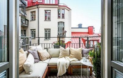 Ideas para decorar y organizar una terraza de entre 4 y 20 m²