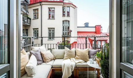 Escape Into This Year's Most Popular Outdoor Seating Nooks