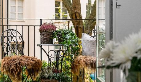 Der Balkon im Herbst: Was jetzt zu tun ist