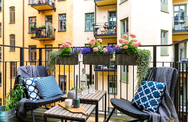 Scandinavian Balcony by STIL & Inredning