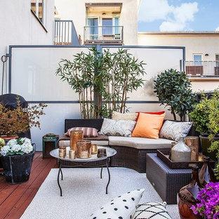 Foto di privacy su balconi o terrazzi minimal