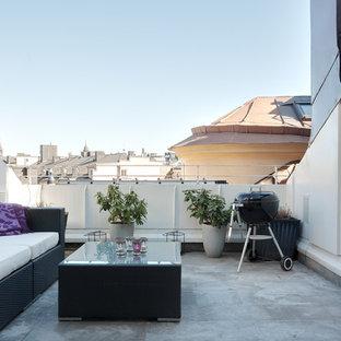 Idéer för att renovera en stor funkis balkong