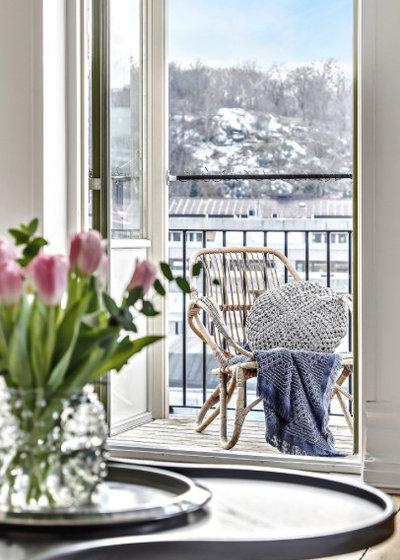 Scandinavian Balcony by Stylingfabriken