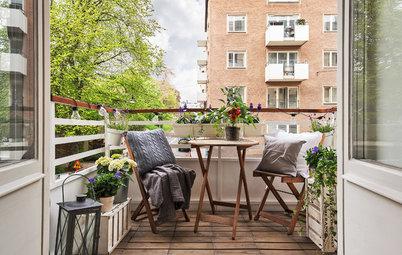 Der Balkon im Sommer: Was jetzt zu tun ist