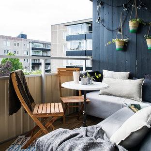 Exempel på en nordisk balkong