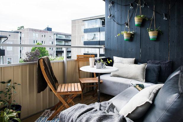 Skandinavisk Balkong by Michsign AB Photography