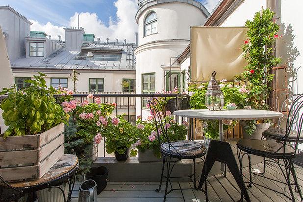 Balconi Piccolissimi : Come arredare bene anche un piccolo balcone
