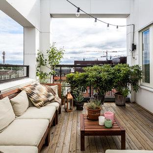 Exempel på en stor klassisk balkong