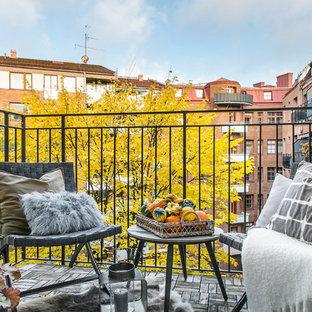 Inspiration för skandinaviska balkonger
