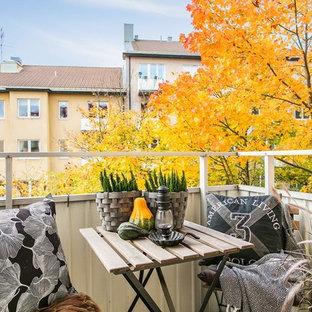 Bild på en nordisk balkong