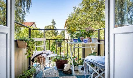 Balkon gestalten: So putzen Sie Ihr Balkonien heraus
