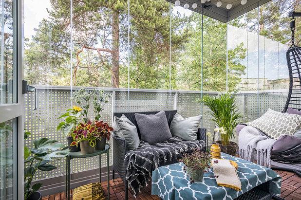 Scandinavian Balcony by Jenny André Designing