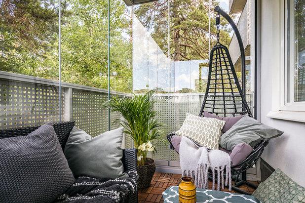Skandinavisk Balkong by Jenny André Designing
