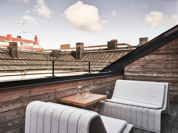 Современный Балкон и лоджия by Wrede Fastighetsmäkleri
