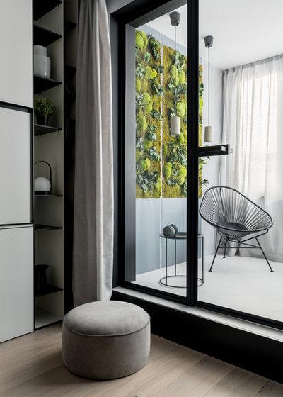 Современный Балкон и лоджия by VYAZMINOVA & SELVINSKY ARCHITECTS
