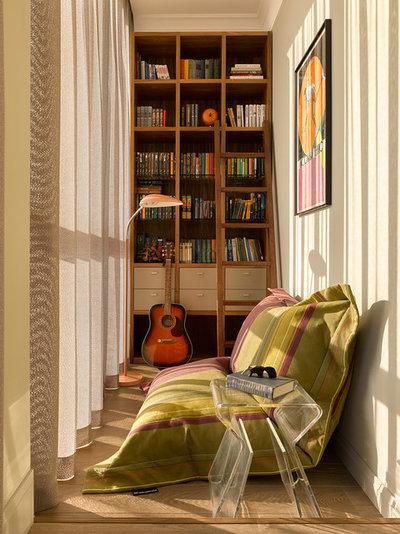 Современный Балкон и лоджия by Надя и Гиви Ананьевы