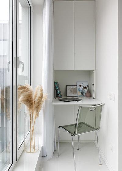 Современный Балкон и лоджия by Ирина Халезова  | iDworkshop