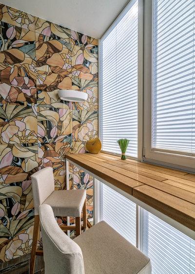 Современный Балкон и лоджия by Антон Лалетин