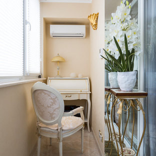 Новые идеи обустройства дома: маленький балкон и лоджия в классическом стиле