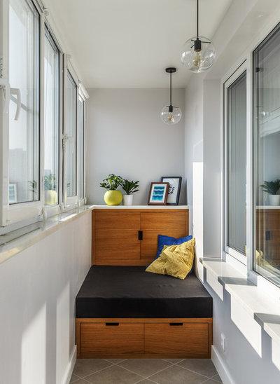Современный Балкон и лоджия by Алексей Иванов и Павел Герасимов|Geometrium design