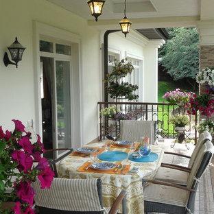 Создайте стильный интерьер: балкон и лоджия в классическом стиле с навесом - последний тренд