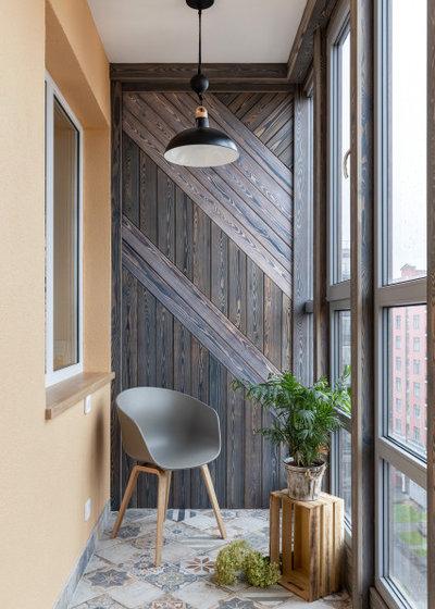 Современный Балкон и лоджия by Алла Сеничева