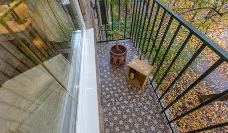Просто фото: Осенние балконы из разных стран — 25 вариантов