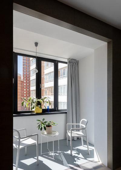 Современный Балкон и лоджия by Схема