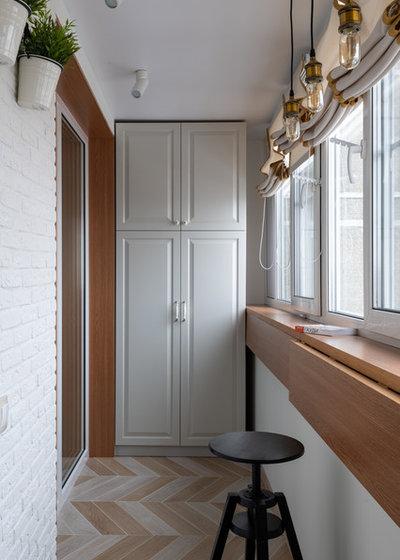 Современный Балкон и лоджия by Вера Шеверденок | Roomba interior