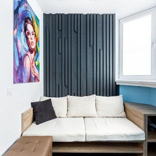 Пример оригинального дизайна интерьера: балкон и лоджия в современном стиле