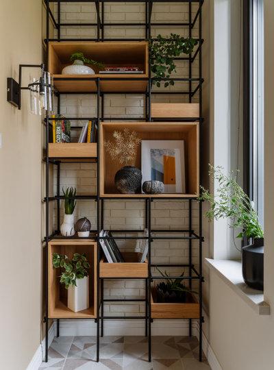 Современный Балкон и лоджия by Яна Яхина