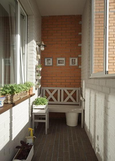 Farmhouse Balcony by Irina Sokolova