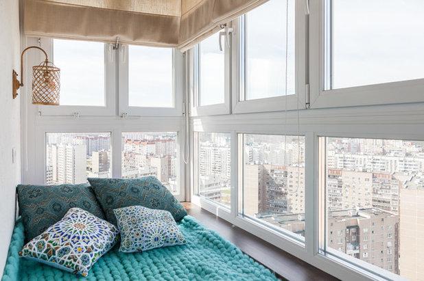 Современный Балкон и лоджия by Наталия Кирьянова интерьерый фотограф