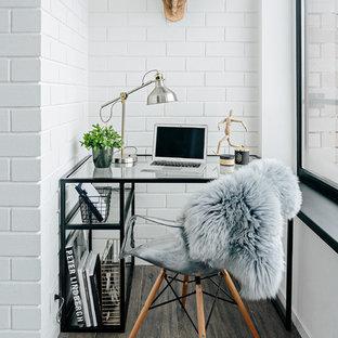 Immagine di un piccolo balcone d'appartamento contemporaneo