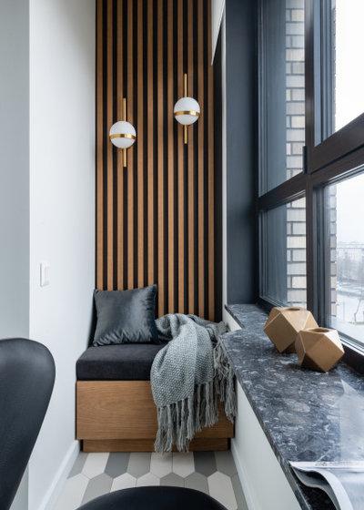 Современный Балкон и лоджия by Студия дизайна интерьера ArtGart