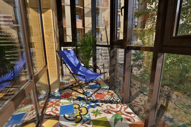 Современный Балкон и лоджия by Anna Fridrik