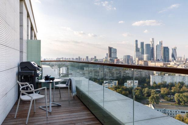 Современный Балкон и лоджия by Ирина Крашенинникова