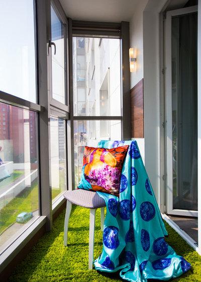 Современный Балкон и лоджия by Катерина Чернова