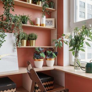Идея дизайна: балкон и лоджия в стиле неоклассика (современная классика)