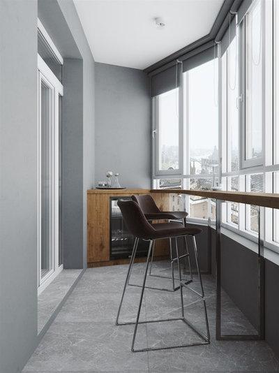 Современный Балкон и лоджия by LESH