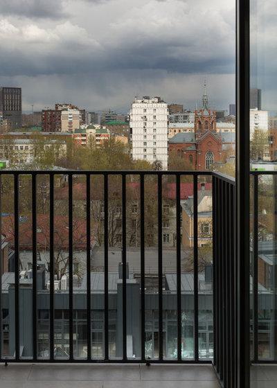 Современный Балкон и лоджия by KRAUZEarchitects