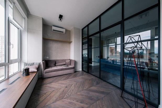 Современный Балкон и лоджия by TABOORET Interiors Lab
