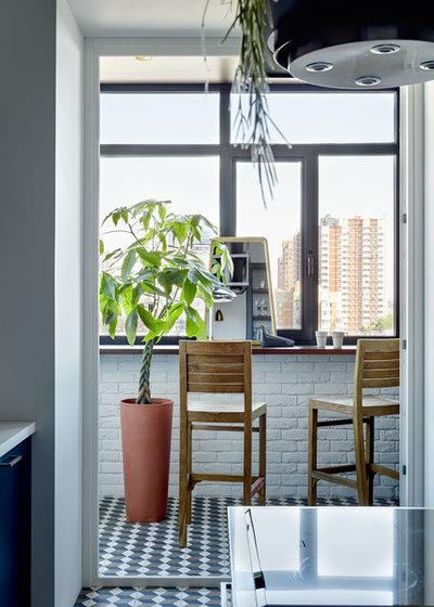 Современный Балкон и лоджия by Aiya Design | Айя Лисова