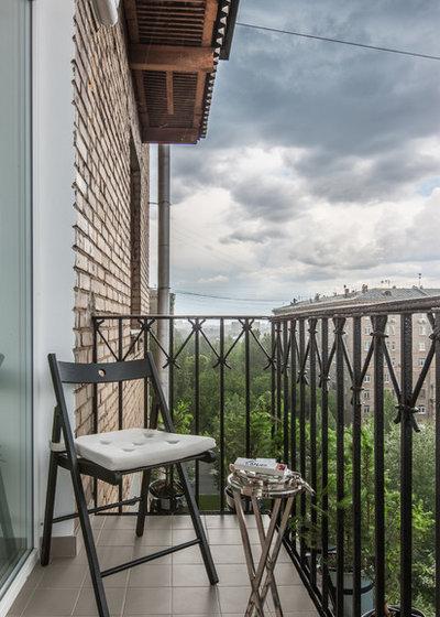 Современный Балкон и лоджия by Msk Interior