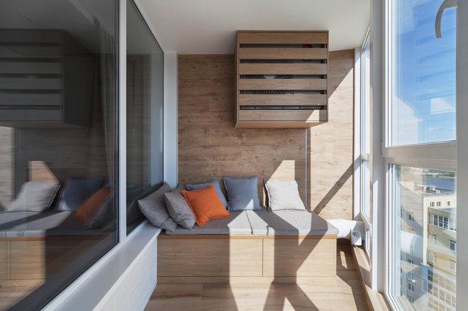 Современный Балкон и лоджия by Дизайн-студия